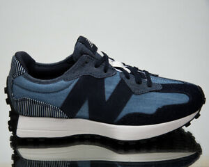 New Balance 327 Denim Men's Eclipse Team Away Grey Low Lifestyle Sneakers Shoes