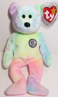 "TY Beanie Babies ""B.B. BEAR"" HAPPY BIRTHDAY Teddy Bear - MWMT! GREAT GIFT! MINT!"