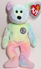 "TY Beanie Babies ""B.B. BEAR"" HAPPY BIRTHDAY Teddy Bear - MWMTs! PERFECT GIFT!"
