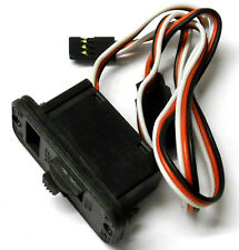 8018 RC Large On Off Switch w Port Plug 3 Pin Futaba Compatible
