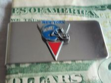 NEW YORK GIANTS NFL-- GIFT-COLLECTABLE- MONEY CLIP-FREE SHIP -ENAMELED-SCULPTED