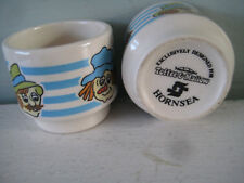 Mackintosh's TOFFEE & MALLOW Advertising Promotion  2 x EGG CUPS by Hornsea
