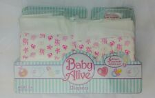 Hasbro Baby Alive Diapers Accessory Pack New 2006 unopened packaging