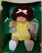 1986 Cabbage Patch Kids Headmold #5 Auburn Single Pony Ok Factory Popcorn
