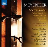 Andrea Chudak - Meyerbeer: Sacred Wroks [Andrea Chudak; Jakub [CD]