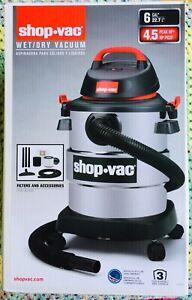 Shop-Vac 6 Gallon 4.5 Peak Hp wet/dry vacuum