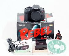 Canon EOS Rebel T4i / 650D 18.0MP Digital SLR Camera Body Only 3K SHUTTER COUNT