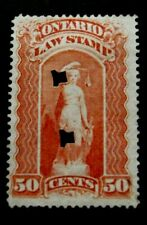 Canada/Ontario-50c Orange Law stamp-Used