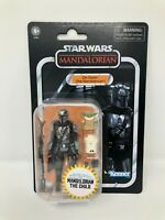 """Star Wars The Mandalorian Din Djarin with The Child 3.75"""" VC177 Walmart In Hand"""