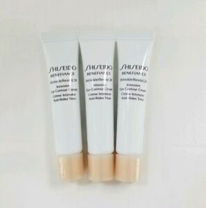 3 Shiseido Benefiance Wrinkleresist24 Intensive Eye Contour Cream Samples (15ml)