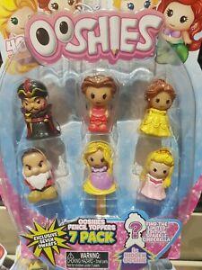 Disney Ooshies Princess Series 1 7-pack jaffar grumpy rapunzel belle aurora