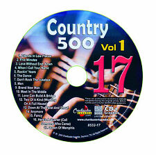 KARAOKE CHARTBUSTER CD+G COUNTRY 500 CB8532 VOL.1 DISC # 17