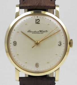 International Watch Company IWC 18K Gold - Cal. 89 - Silver Dial (1964)