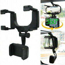 New Listing360 Rotatable Car Rearview Mirror Mount Stand Holder Cradle For Cell Phone Gps Fits Plymouth Breeze