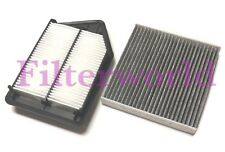 Engine & Carbonized Cabin Air Filter For HONDA ACCORD 2013-2017 2.4L US Seller