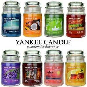Yankee Candle Scented Fragrance Candles American Home Large 19oz Glass Jar 538g
