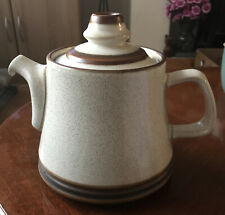 Denby Potters Wheel Teapot and Lid 18cm Tall VGC Vintage