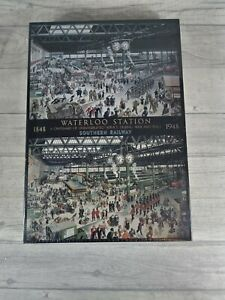 National Railway Museum Waterloo Station 1848 & 1948 Jigsaw Puzzle Boxed Sealed