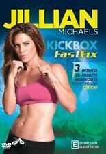 Jillian Michaels: Kick Box Fast Fix * NEW DVD * (Region 4 Australia)