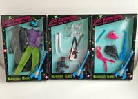 2010 Convention Rockers Set of 3 Barbie Ken Fashions Guitar Boots Accessories