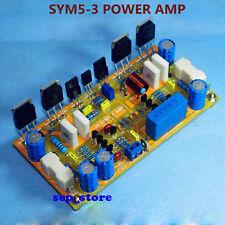 DIY Mono Classic Symasym5-3 Discrete Power amplifier kit 200W AMP Kit   L163-2