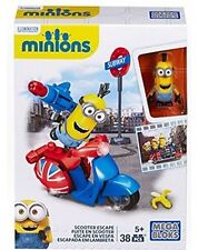 Megabloks Minions Scooter Escape NIB Despicable Me Kevin new in box