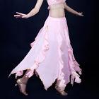 New Belly Dance Costume Skirt Golden Edge Lotus Leaf Skirt/Dress 12 Colors