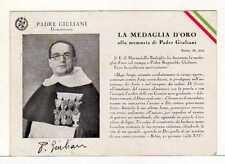 6031) CP Medaglia d'Oro Padre Giuliani 1936 Dominicano