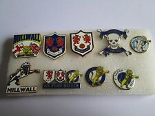 lotto 9 pins lot MILLWALL FC club spilla football calcio badge spille