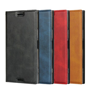 For Sony Xperia XZ Premium Magnetic Leather Phone Case Protector Flip Wallet