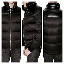 UltraRare&Great Dior Homme AW10 Leather Trim Nylon Feather Down Jacket