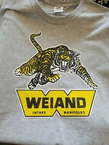 Vintage Weiand Manifolds Drag Racing T Shirt
