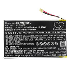 Battery for Autel MaxiSys Mini, MS905, MS906 Replacement MLP5070111  New 5000mAh