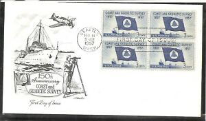 US SC #  1088 Coast And Geodetic Survey FDC. Artmaster Cachet