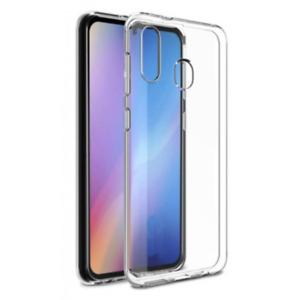 Housse Etui Coque Silicone GEL [Transparent] Samsung Galaxy A01