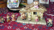 8-Piece Lighted Nativity Set  & Manger Made In China