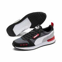 Puma R78 Unisex Sneaker Low Top Turnschuhe 373117 Castlerock Grau