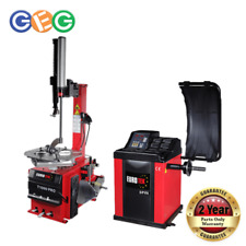 Eurotek Tyre Changer T1000 pro and Spin Wheel Balancer Package 3