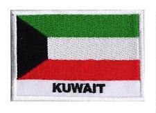Patch écusson patche brodé drapeau KOWEIT 70 x 45 mm à coudre
