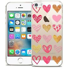 Coque Crystal Pour iPhone 5/5s/SE Extra Fine Rigide Sweetie Doodling Hearts
