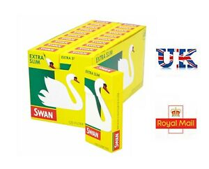 SWAN Extra Slim Filter Tips - 120 PER BOX Rolling Cigarette Smoking Filters Tip