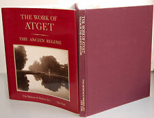 NEW-The Work of Atget: The Ancien Regime–Vol. III/The Museum of Modern Art, 1983