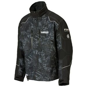 Mens Yamaha FXR Waterproof Breathable Snowmobile Sled Mountain Jacket Closeout