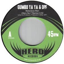 """Gumbo Ya Ya & DPF Pasamontañas Hombre Hero No.7 Reino Unido Hip Hop Funk 45 Hero Records 7""""+mp3"""