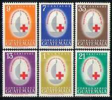 Guatemala 1963 Red Cross/Medical/Health 6v set (n27730)