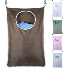 Door Hanging Large Capacity Laundry Hamper Dirty Clothes Bags Storage Household