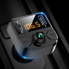 Hy68 Car Kit Wireless Bluetooth FM Transmitter Mp3 Music Player USB Charger TF