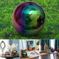 Stainless Steel Mirror Polished Sphere Round Ball Garden Ornament Decor