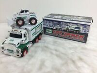Hess 2008 Toy Truck and Front Loader Collectible w/ Original Box Tested Works