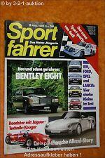 Sportfahrer 8/85 Audi Sport Quattro Mazda Rx 7 BMW 528i